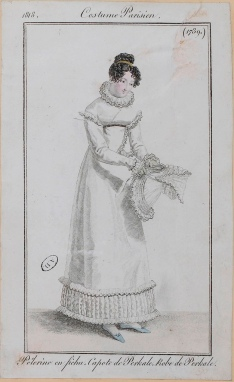 Costume Parisien, 1818.