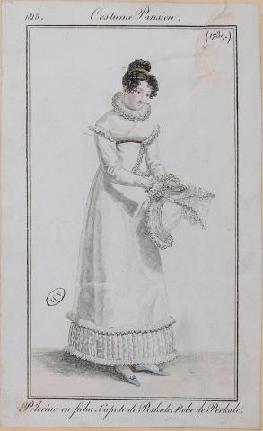 Costume Parisien, 1818.