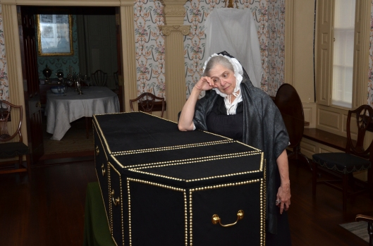 1803 widow and coffin