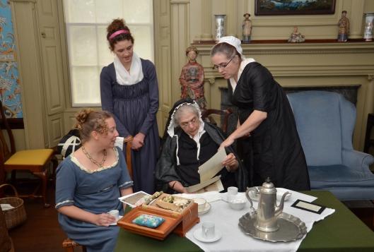 1803 ladies ponder fashion plates