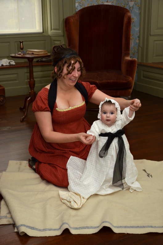 1803 woman and baby