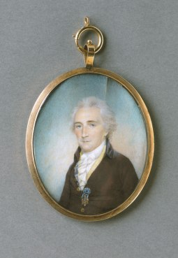 Portrait of a Gentleman of the Society of the Cincinnati. Miniature by James Peale, American, 1802. Philadelphia Museum of Art, 2000-137-11