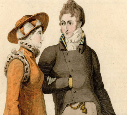Detail, 1807 fashion plate