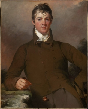 John Myers. Oil on canvas by Thomas Sully, 1814. MFA Boston 45.894 Gift of Maxim Karolik for the M. and M. Karolik Collection of American Paintings, 1815–1865