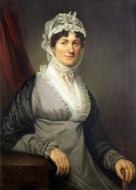 Mrs Catherine Morey oil on canvas by Michael Keeling, 1817. (c) Walker Art Gallery; Supplied by The Public Catalogue Foundation