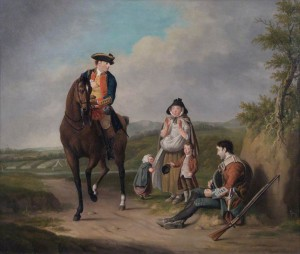The Marquis of Granby (Relieving A Sick Soldier) Oil on canvas by Edward Penny after 1765 (c) Royal Academy of Arts