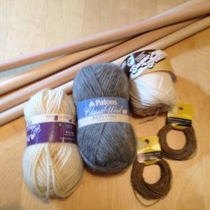 Supplies assembled
