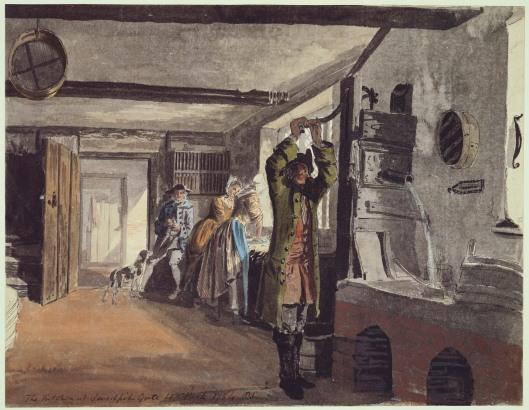 Paul Sandy. The Kitchen at Sandpit Gate, 1754. RCIN 914331