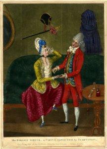 The Bargain Struck, or Virtue conquer'd by Temptation. Mezzotint, 1773. British Museum 1935,0522.1.130