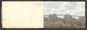 Anne Rushout, ca. 1768–1849, British, 3 sketchbooks of 82 drawings by Anne Rushout (B1977.14.9506-9587), 1824 to 1832, Watercolor on moderately thick, slightly textured, cream wove paper, Yale Center for British Art, Paul Mellon Collection