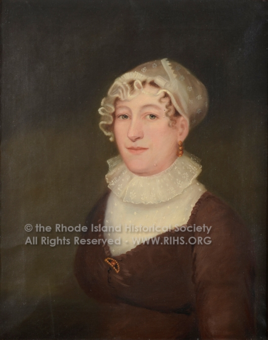 Mrs William (Jane) Pabodie. oil on canvas, 1813. RIHS 1970.60.2