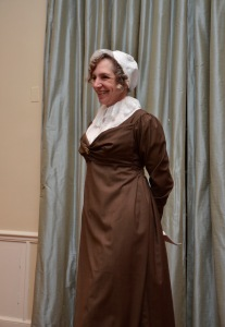 Mrs Pabodie attempts to remember when she was born (1771). Photo by J. D. Kay