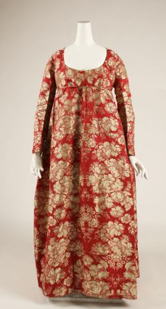 Gown, 1790s. Silk, French, Purchase. C.I.64.32.2