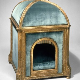 Dog kennel, by Claude I Sené, 1775-1780. Metropolitan Museum of Art, 1971.206.18