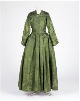in silk designed by Anna Maria Garthwaite