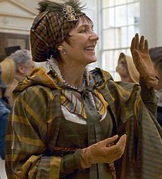 Lady Russell's headdress, Persuasion, 1995.