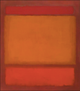 Red, Orange, Orange on Red oil on canvas by Mark Rothko, 1962. St. Louis Art Museum, 129:1966