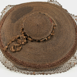 Straw hat, Snowshill Wade Costume Collection, NT 1349843